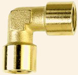 Brass Elbows Connectors Threaded Fittings Elbows
