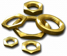 Brass Lock Nuts