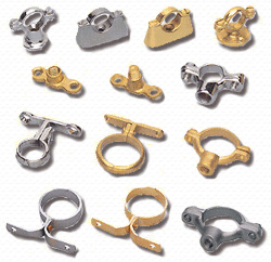 Pipe Support System Brass Pipe Brackets Brass Pipe Clips Stainless Steel Pipe Brackets Stainless Steel Clips